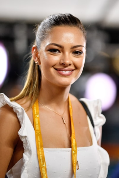 MIAMI, FL - DECEMBER 29:  Demi-Leigh Nel-Peters attends the College Football Playoff Semifinal between the Alabama Crimson Tide and the Oklahoma Sooners at the Capital One Orange Bowl at Hard Rock Stadium on December 29, 2018 in Miami, Florida.  (Photo by Mark Brown/Getty Images)
