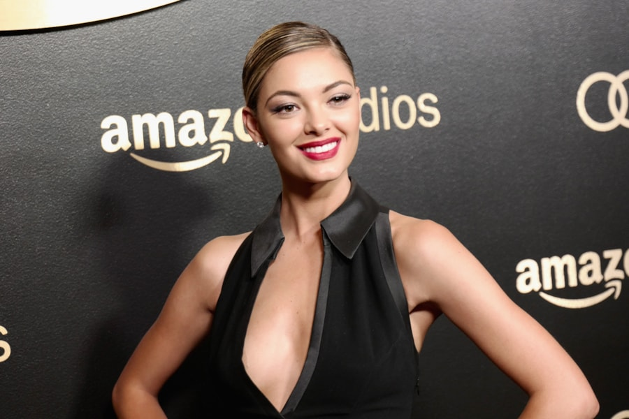 BEVERLY HILLS, CA - JANUARY 07:  Miss Universe 2017 Demi-Leigh Nel-Peters attends Amazon Studios' Golden Globes Celebration at The Beverly Hilton Hotel on January 7, 2018 in Beverly Hills, California.  (Photo by Earl Gibson III/Getty Images)