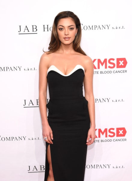 NEW YORK, NY - MAY 02:  Miss Universe 2017 Demi-Leigh Nel-Peters attends The DKMS Love Gala 2018 at Cipriani Wall Street on May 2, 2018 in New York City.  (Photo by Dimitrios Kambouris/Getty Images for DKMS)