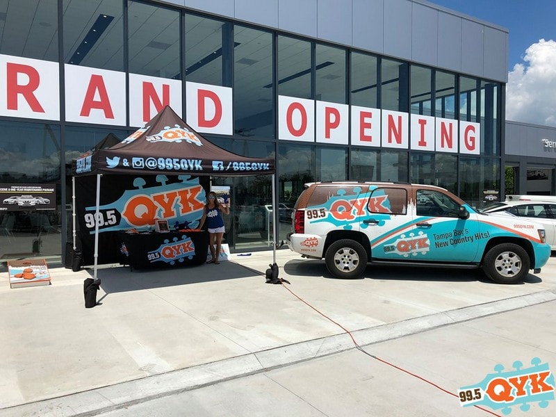 Fuccillo Nissan Clearwater >> Qyk At The Fuccillo Nissan Grand Opening In Clearwater