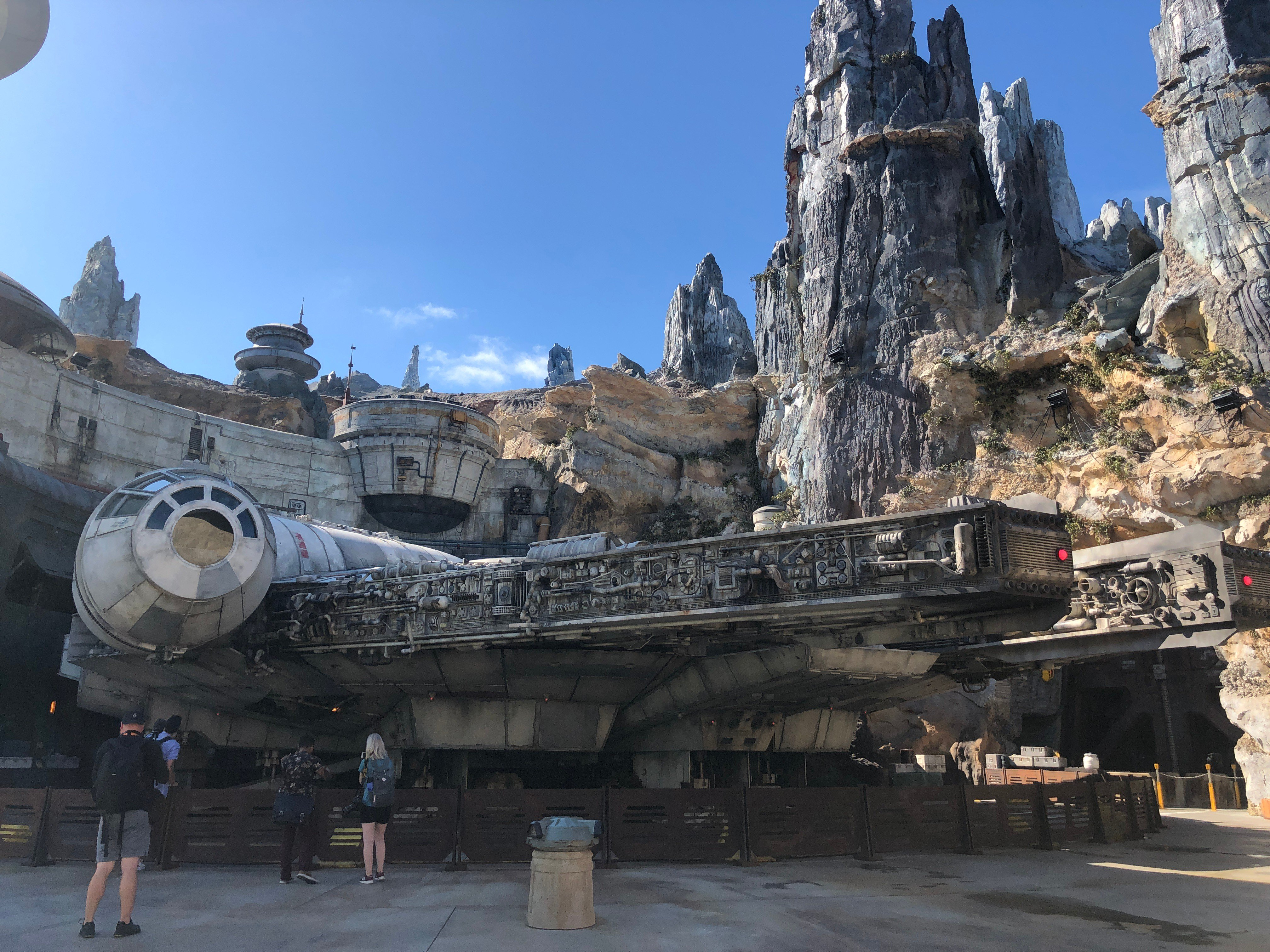 Experience Millennium Falcon: Smuggler's Run At Star Wars