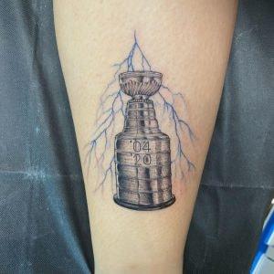 Jen Glorioso Stanley Cup Tattoo